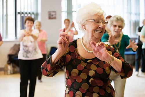 In beweging met dans!