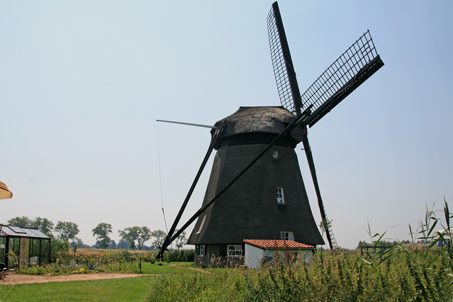 Poldermolen in Ophemert